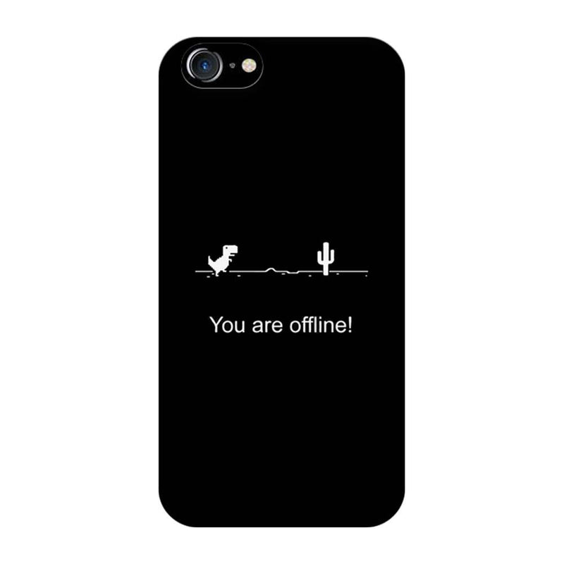 Apple iPhone 7 Mobile Cover Printed Designer Case You are offline