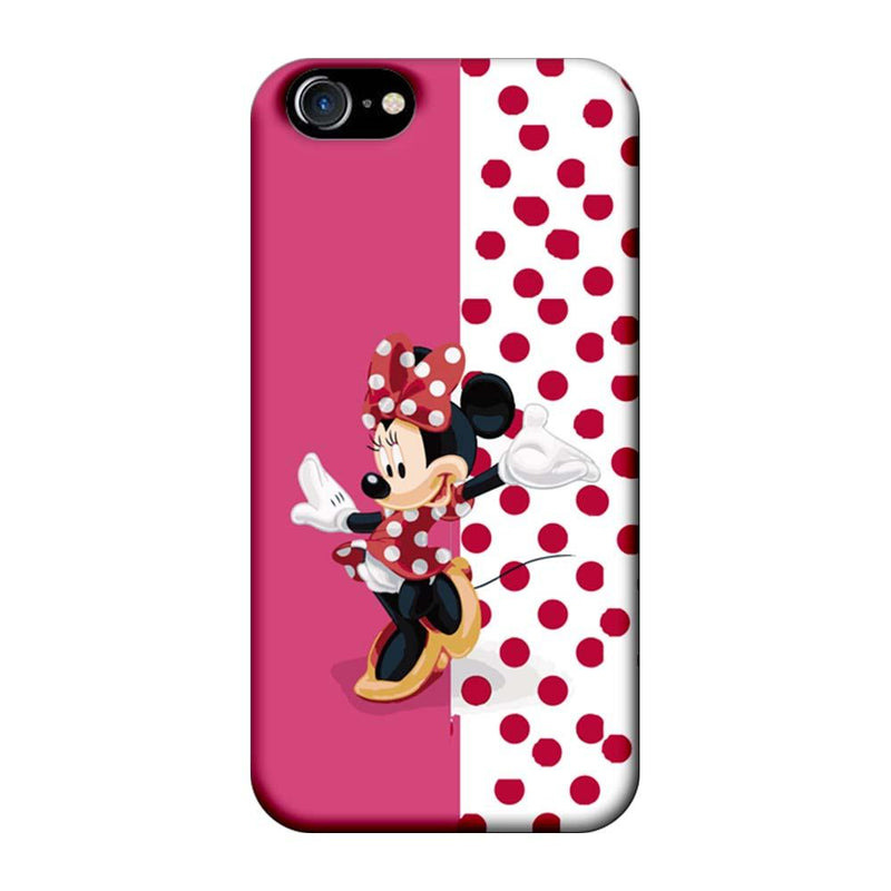 Apple iPhone 7 Mobile Cover Printed Designer Case Dotted Mickey Mouse