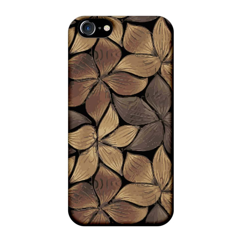 Apple iPhone 8 Mobile Cover Printed Designer Case Flower Art 2