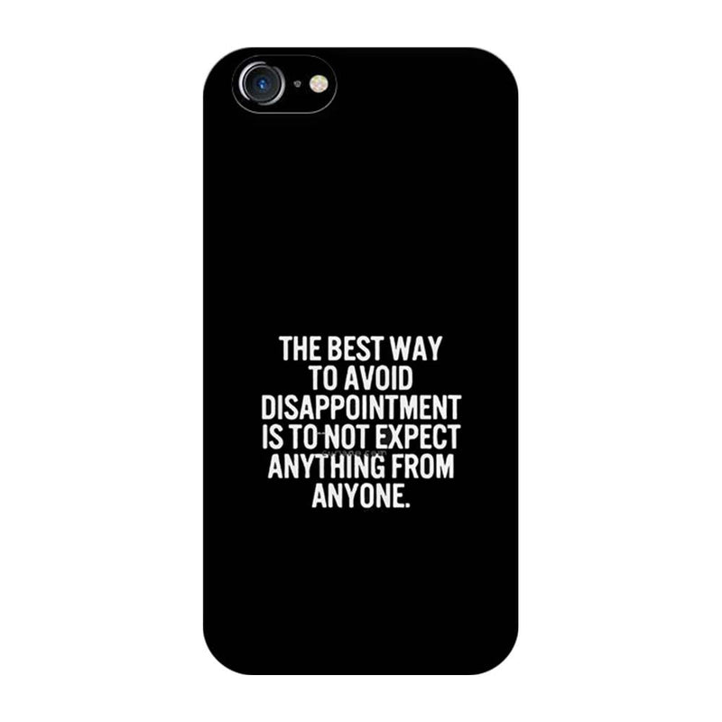 Apple iPhone 7 Mobile Cover Printed Designer Case The Best Way