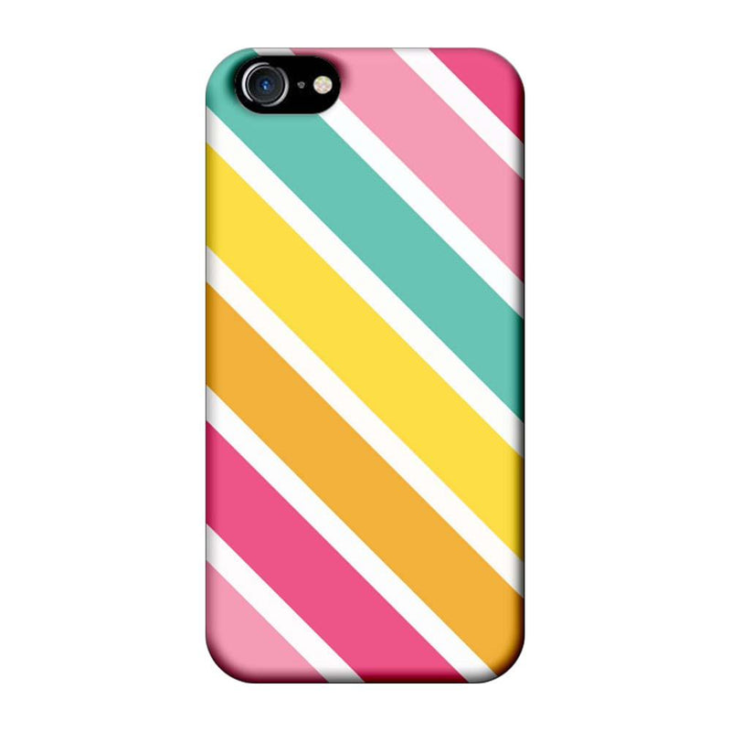 Apple iPhone 7 Mobile Cover Printed Designer Case Stripes Pattern One