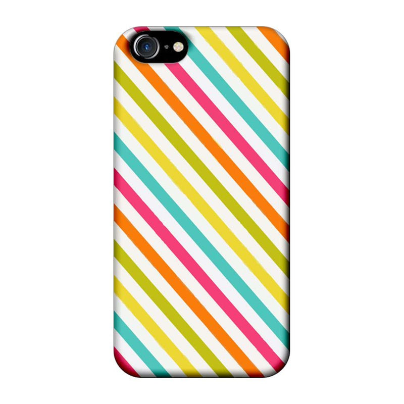 Apple iPhone 7 Mobile Cover Printed Designer Case Stripes Pattern Two