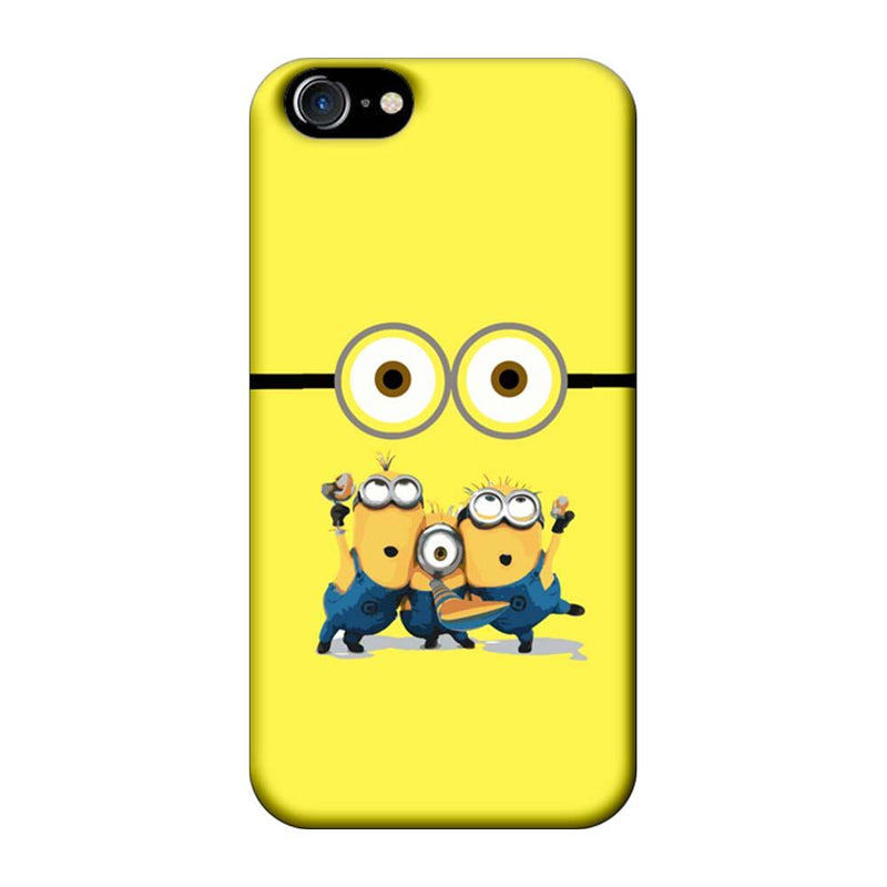 Apple iPhone 8 Mobile Cover Printed Designer Case Minions