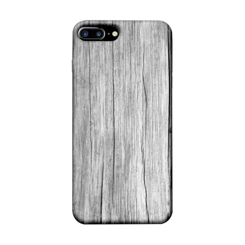 Apple iPhone 7 Plus Mobile Cover Printed Designer Case White Dust Wood
