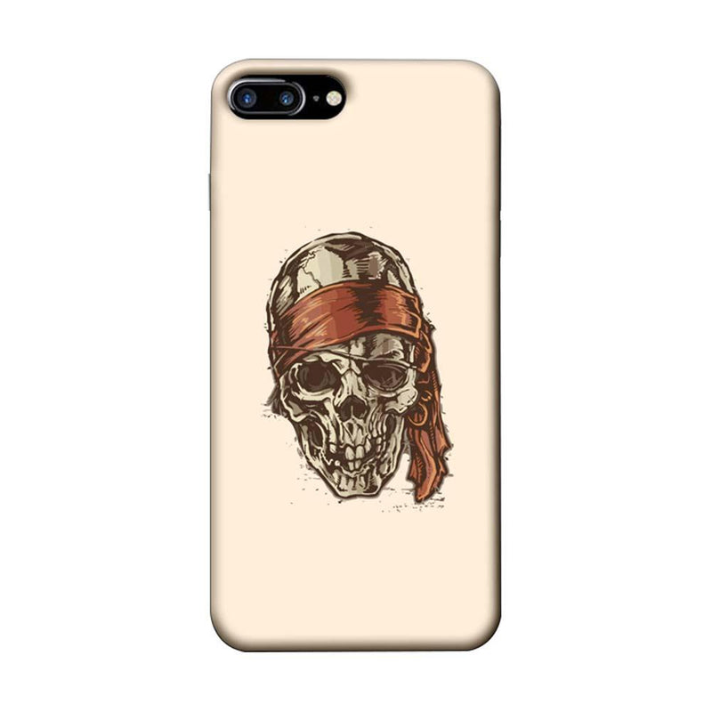 Apple iPhone 7 Plus Mobile Cover Printed Designer Case Skull