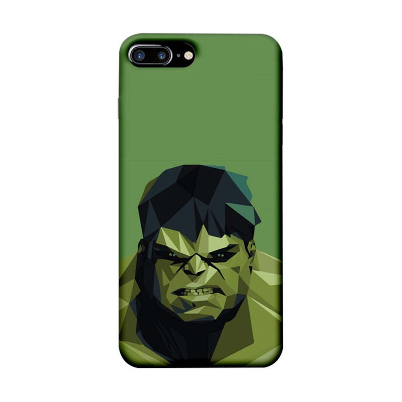 Apple iPhone 8 Plus Mobile Cover Printed Designer Case Angry Hulk