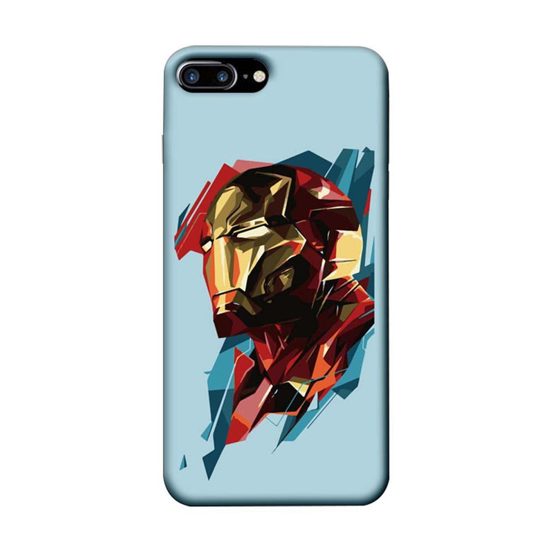 Apple iPhone 8 Plus Mobile Cover Printed Designer Case Ironman illustration 2.0