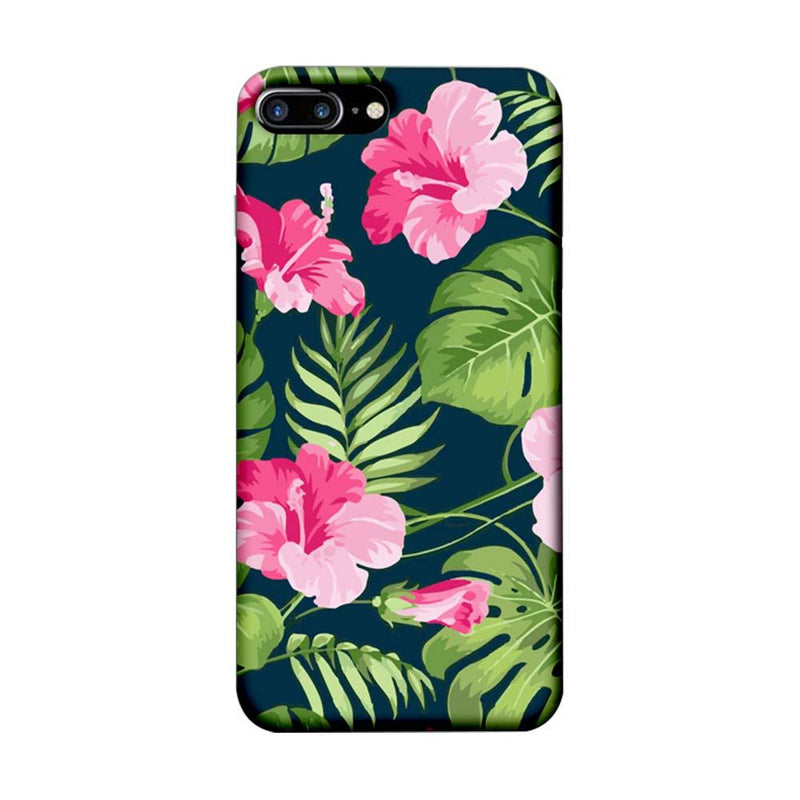 Apple iPhone 7 Plus Mobile Cover Printed Designer Case Pink Floral