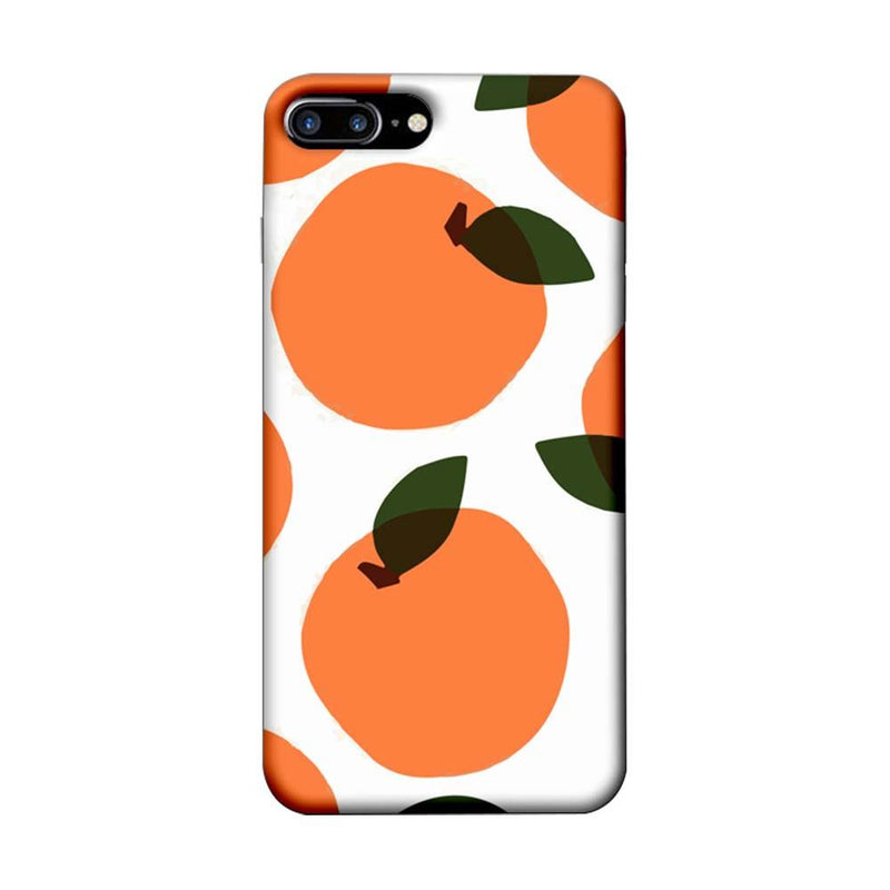 Apple iPhone 8 Plus Mobile Cover Printed Designer Case Oranges