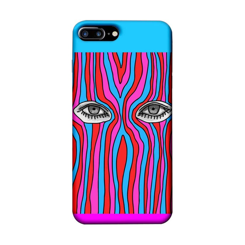 Apple iPhone 7 Plus Mobile Cover Printed Designer Case Eyes