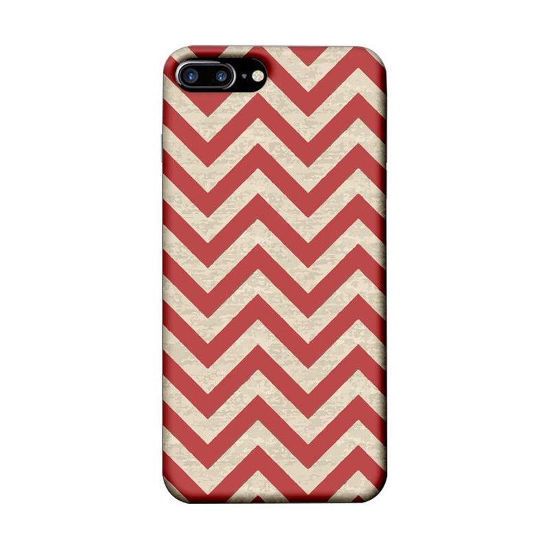 Apple iPhone 7 Plus Mobile Cover Printed Designer Case Zigzag Stripes