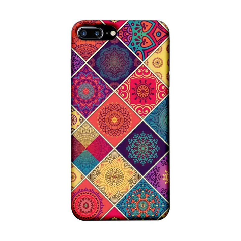 Apple iPhone 8 Plus Mobile Cover Printed Designer Case Indian Arts