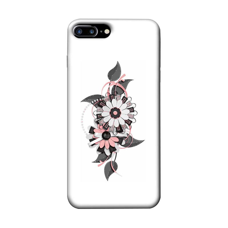 Apple iPhone 8 Plus Mobile Cover Printed Designer Case Floral Pattern
