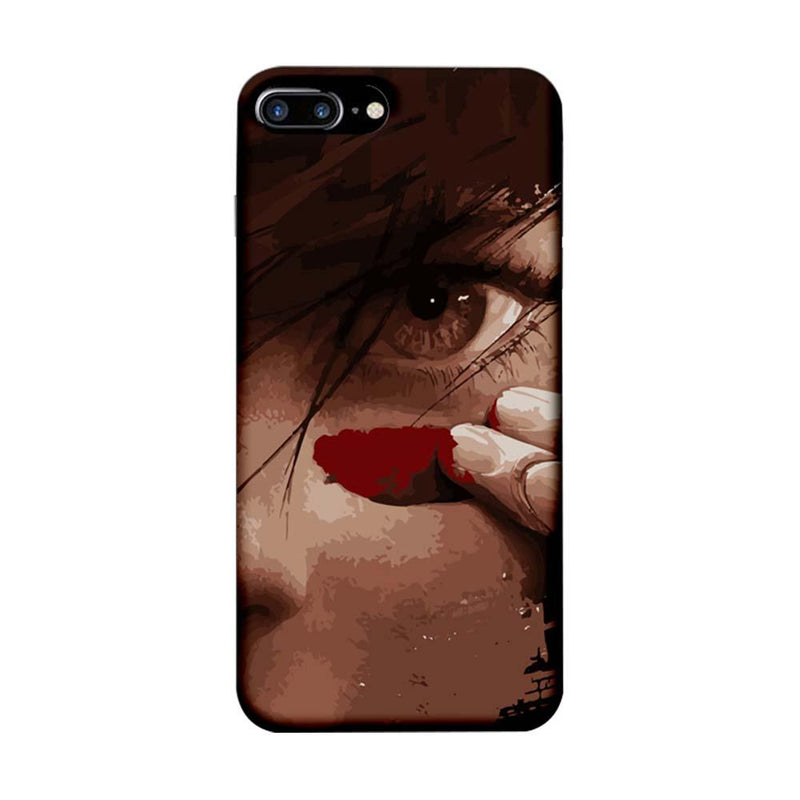 Apple iPhone 7 Plus Mobile Cover Printed Designer Case Eye