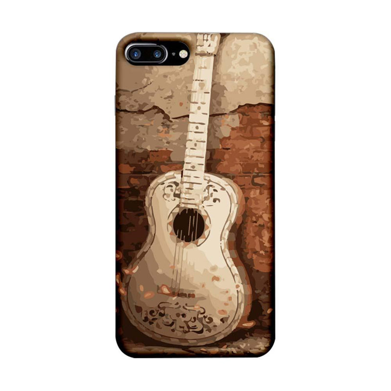 Apple iPhone 7 Plus Mobile Cover Printed Designer Case Guitar