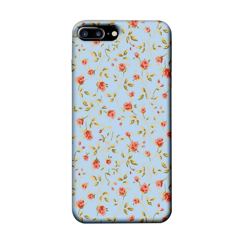 Apple iPhone 7 Plus Mobile Cover Printed Designer Case Floral Pattern two