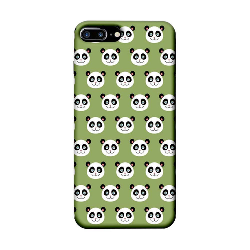 Apple iPhone 7 Plus Mobile Cover Printed Designer Case Multiple Pandas
