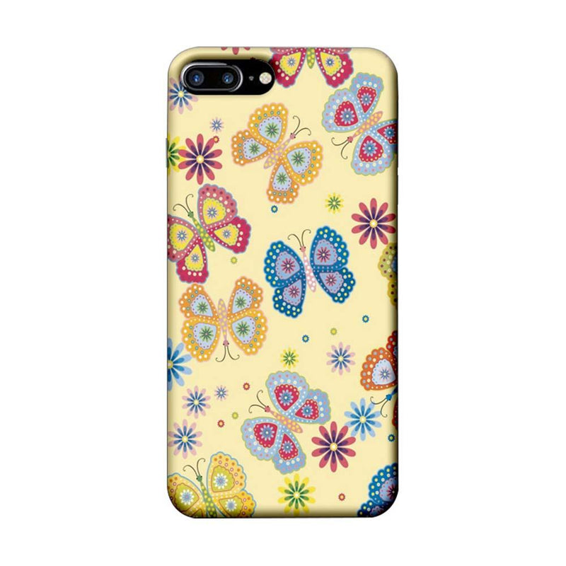 Apple iPhone 7 Plus Mobile Cover Printed Designer Case Butterflies