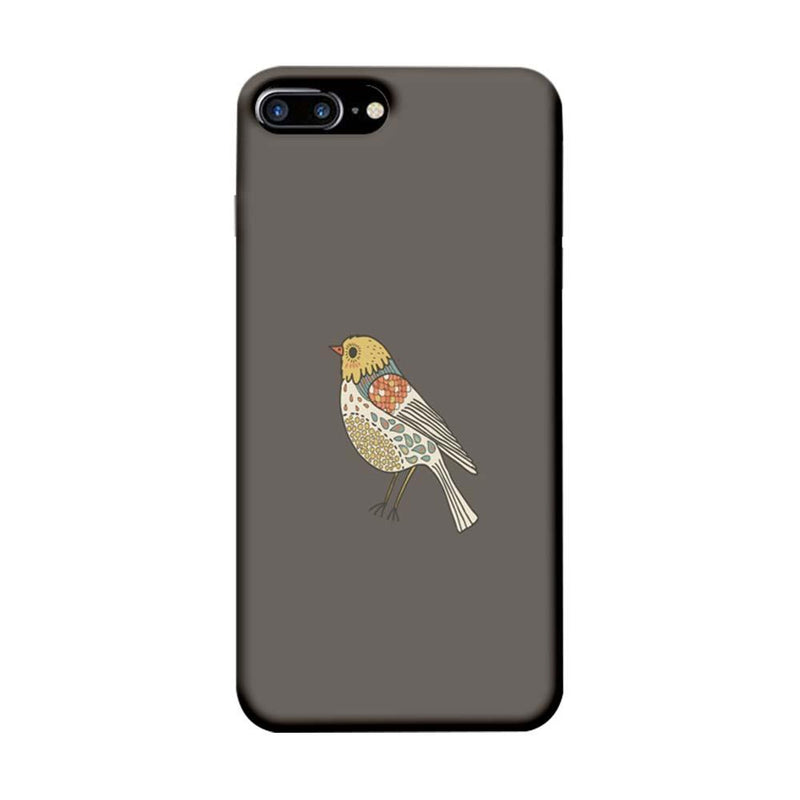 Apple iPhone 7 Plus Mobile Cover Printed Designer Case Bird Art