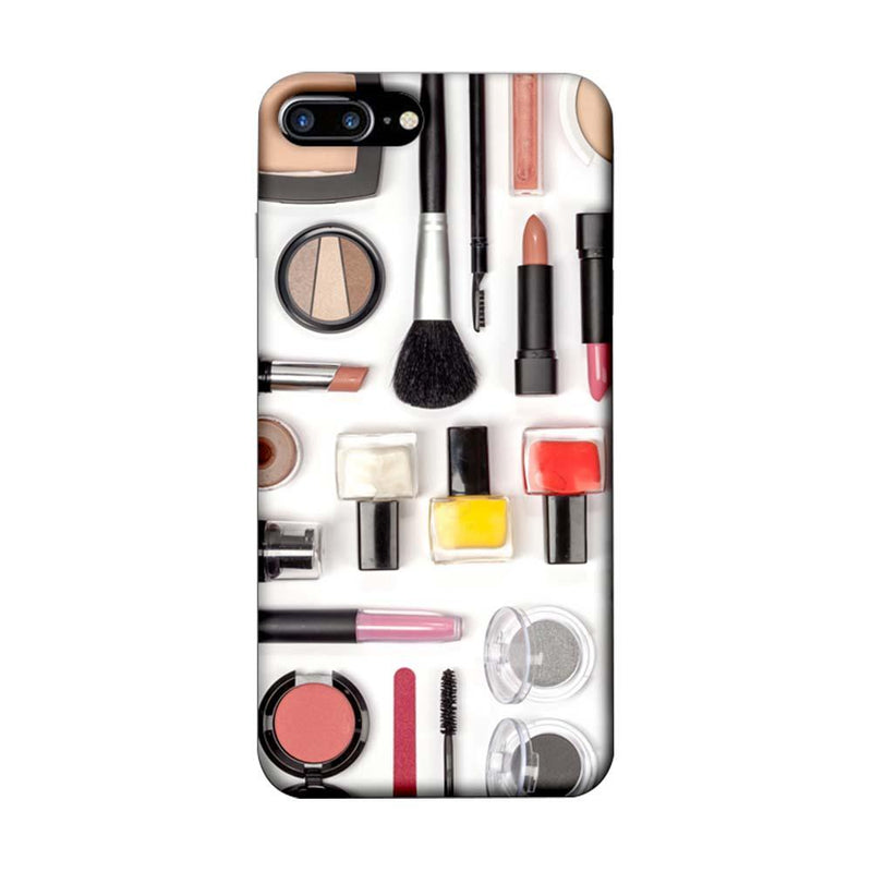 Apple iPhone 7 Plus Mobile Cover Printed Designer Case Makeup Kit