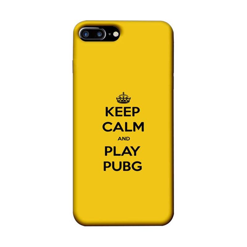 Apple iPhone 7 Plus Mobile Cover Printed Designer Case Keep Calm and Play PUBG