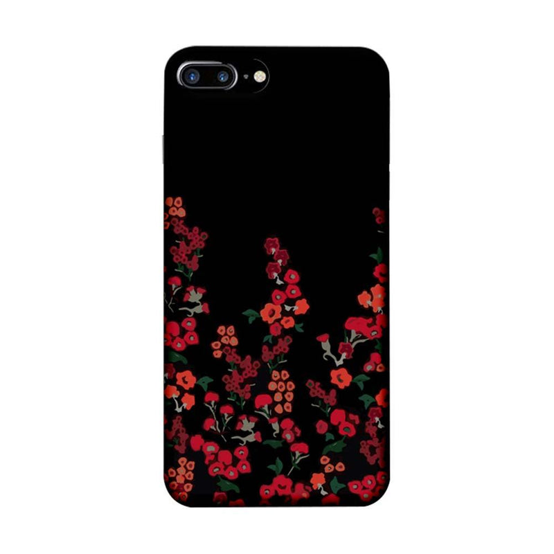 Apple iPhone 7 Plus Mobile Cover Printed Designer Case Floral One