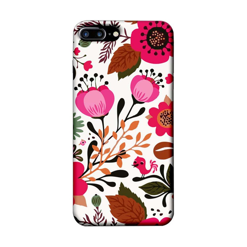 Apple iPhone 7 Plus Mobile Cover Printed Designer Case Flower Art