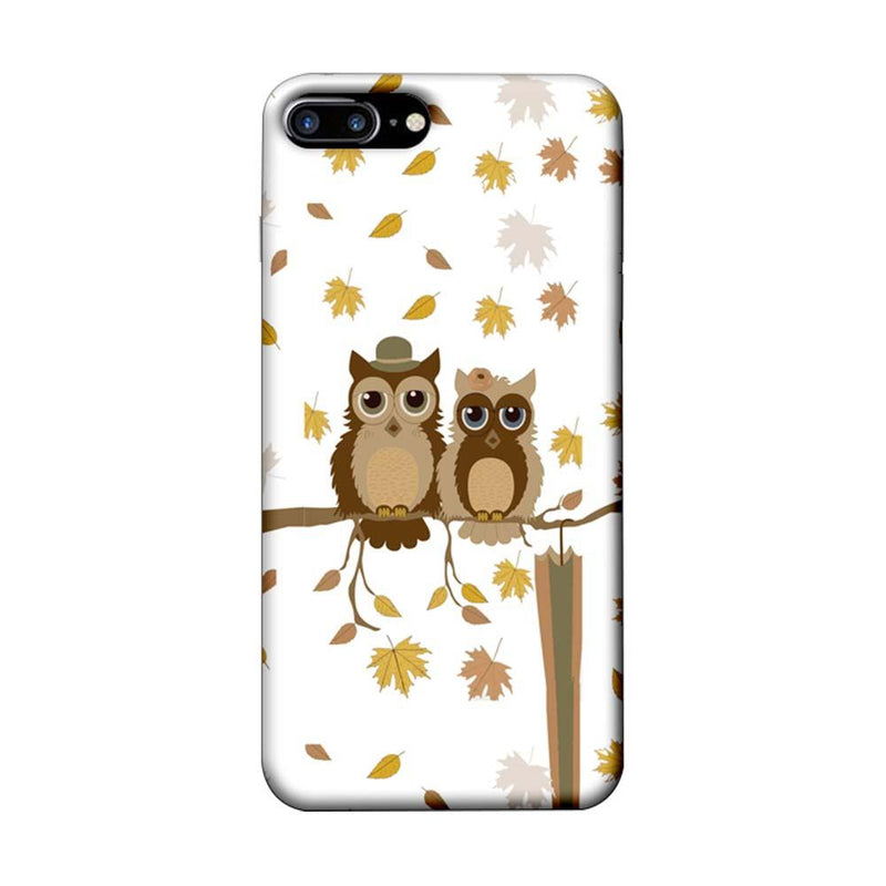 Apple iPhone 7 Plus Mobile Cover Printed Designer Case Owls