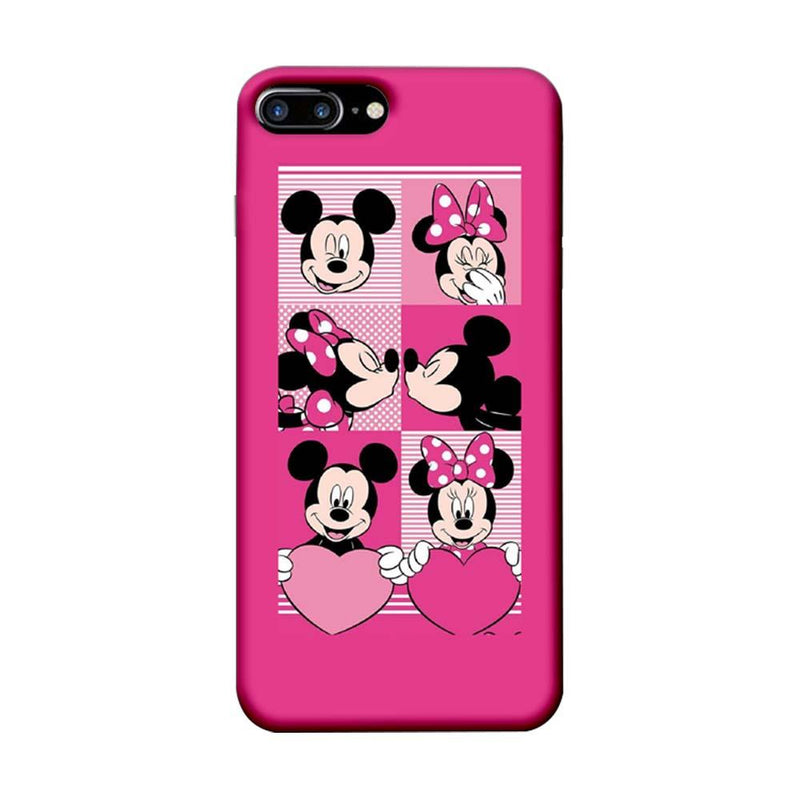 Apple iPhone 7 Plus Mobile Cover Printed Designer Case Mickey Mouses