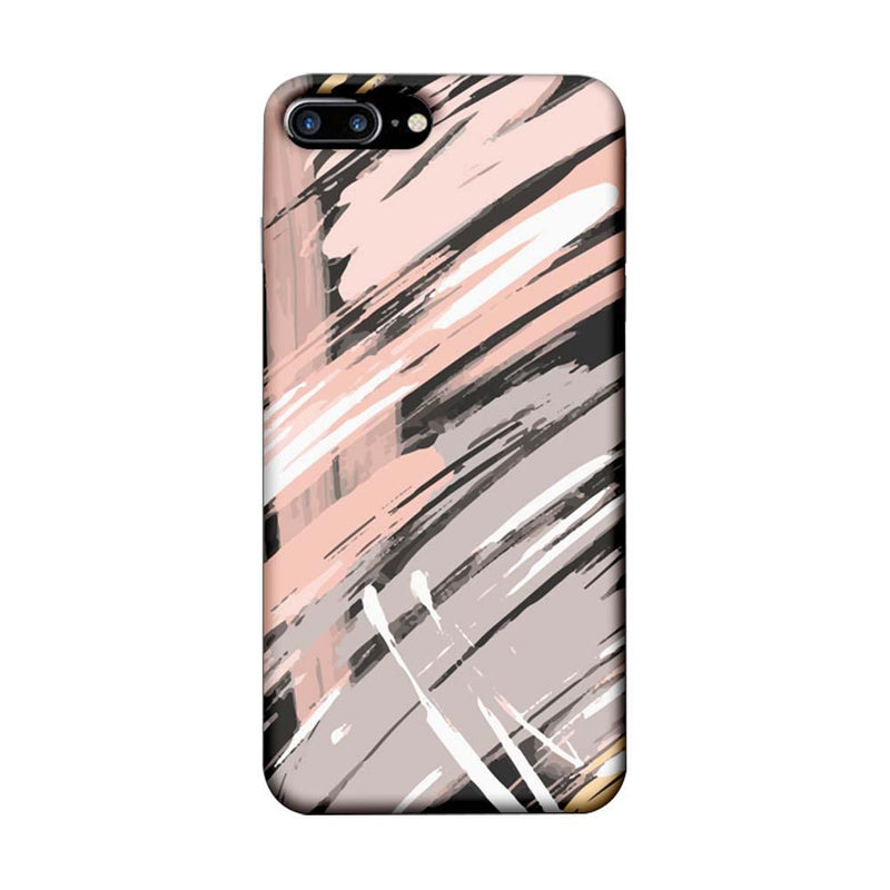 Apple iPhone 7 Plus Mobile Cover Printed Designer Case Brush Stroke
