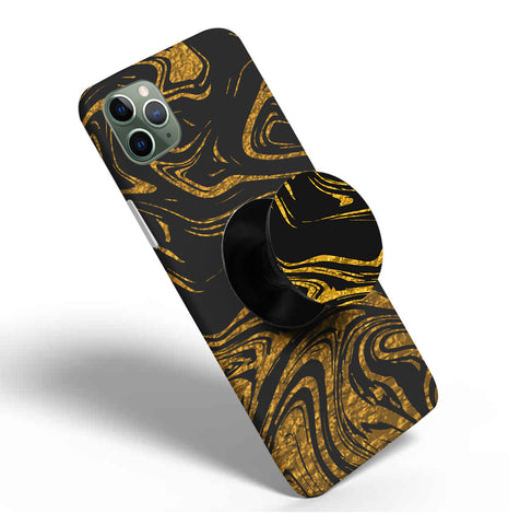Crazywears Printed Phonecase with Black Popsocket - 33