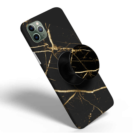 Crazywears Printed Phonecase with Black Popsocket - 40