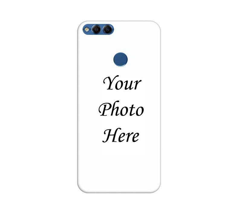Huawei Honor 7X Back Cover Personalised Printed Case - www.crazywears.in