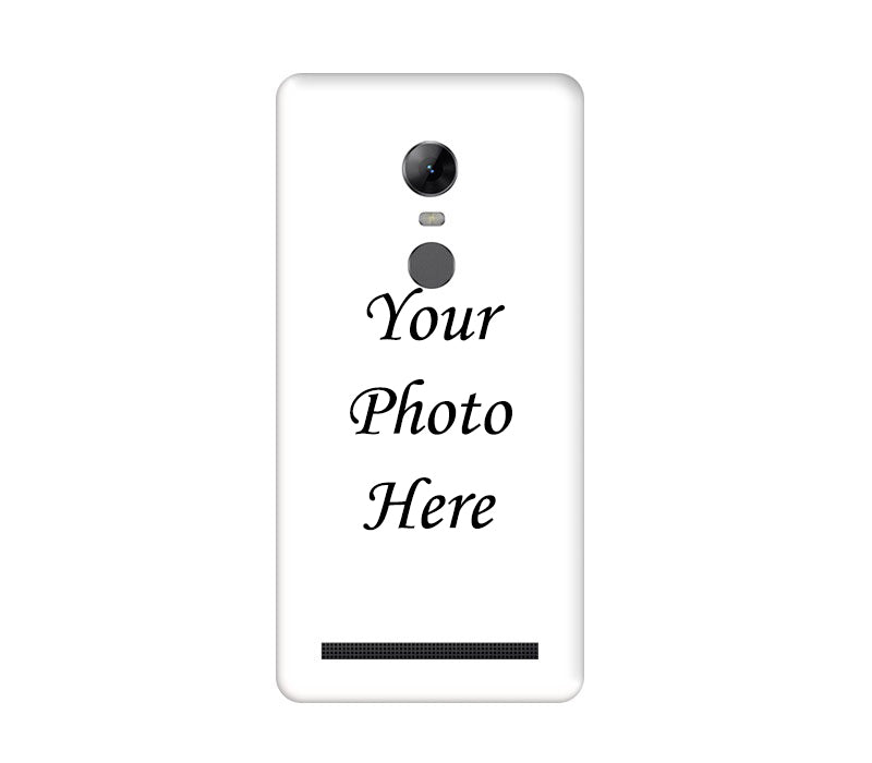 Lenovo K5 Note Back Cover Personalised Printed Case - www.crazywears.in