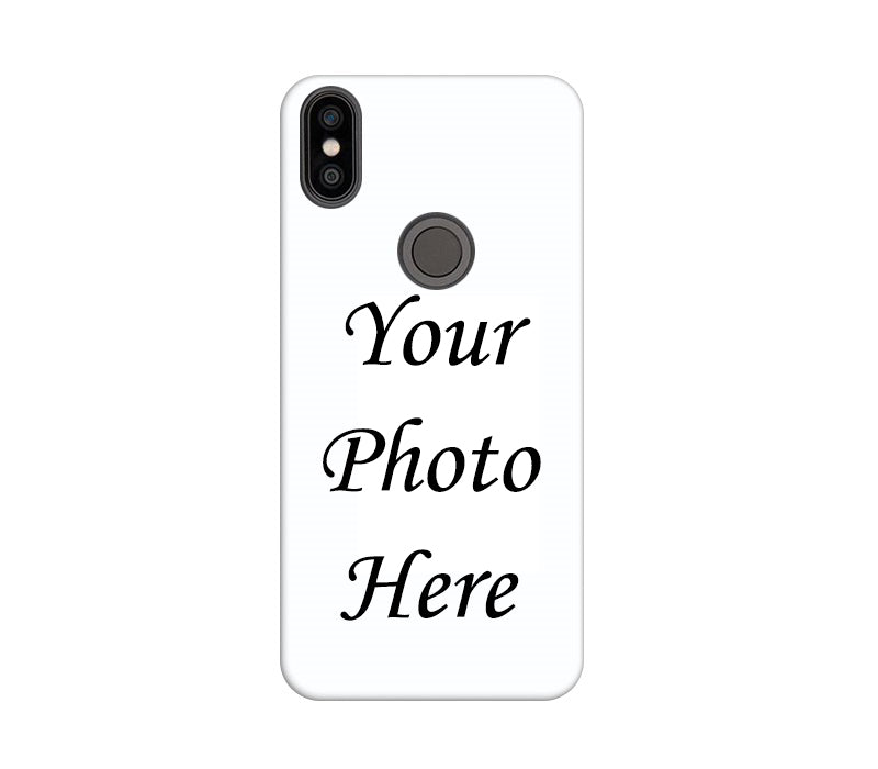 Xiaomi Mi A2 Back Cover Personalised Printed Case - www.crazywears.in