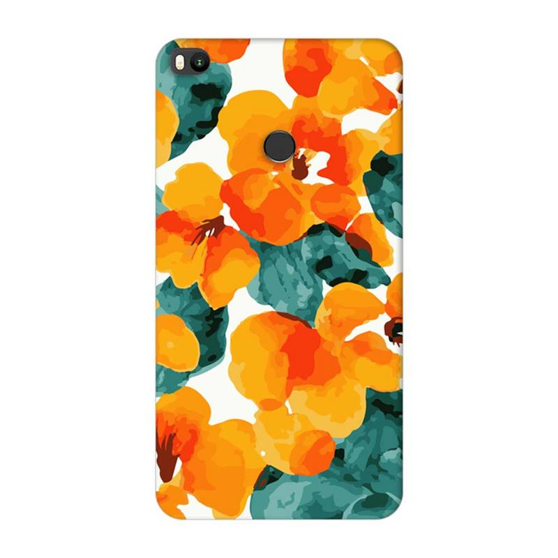 Xiaomi Mi Max 2 Mobile Cover Printed Designer Case Yellow Flower Artwork