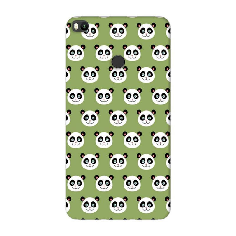Xiaomi Mi Max 2 Mobile Cover Printed Designer Case Multiple Pandas