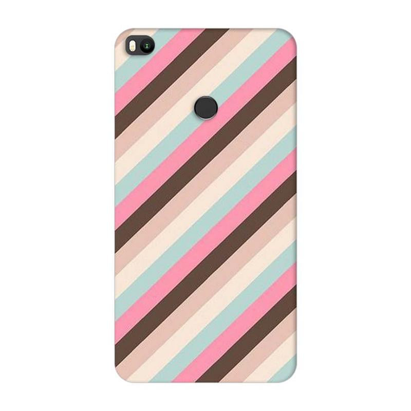 Xiaomi Mi Max 2 Mobile Cover Printed Designer Case Multi Stripe