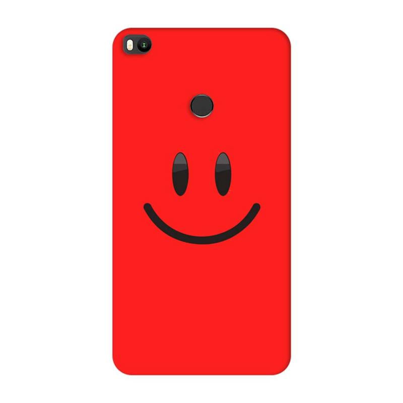 Xiaomi Mi Max 2 Mobile Cover Printed Designer Case Smile