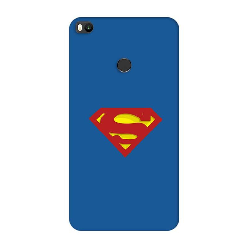 Xiaomi Mi Max 2 Mobile Cover Printed Designer Case Superman Logo