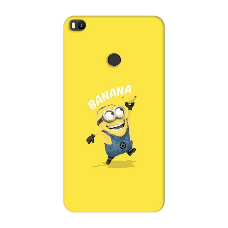 Xiaomi Mi Max 2 Mobile Cover Printed Designer Case Minion Banana