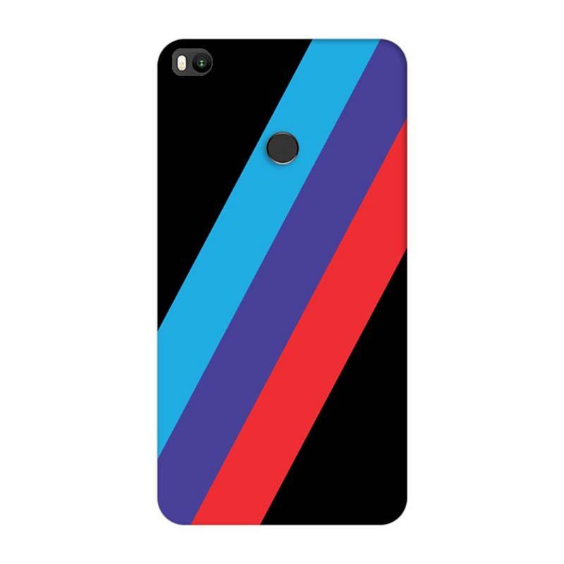 Xiaomi Mi Max 2 Mobile Cover Printed Designer Case BMW Cars Stripe One