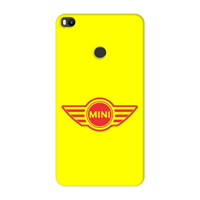 Xiaomi Mi Max 2 Mobile Cover Printed Designer Case Mini Cooper Cars Logo