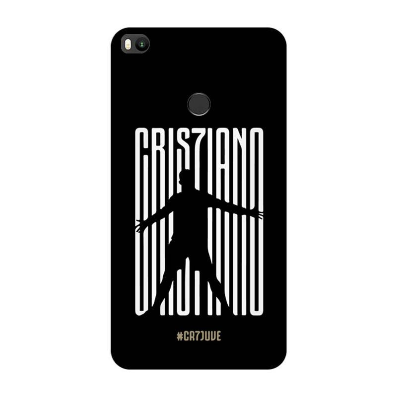 Xiaomi Mi Max 2 Mobile Cover Printed Designer Case Black Cristiona Ronaldo two ( Football)