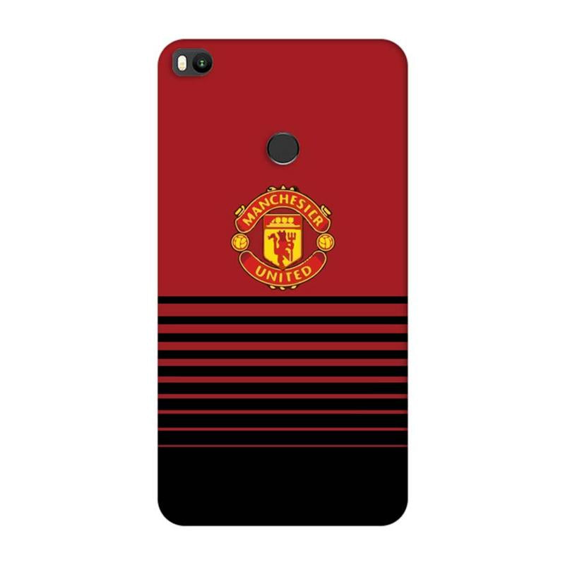 Xiaomi Mi Max 2 Mobile Cover Printed Designer Case Manchestor United Logo Two ( Football)