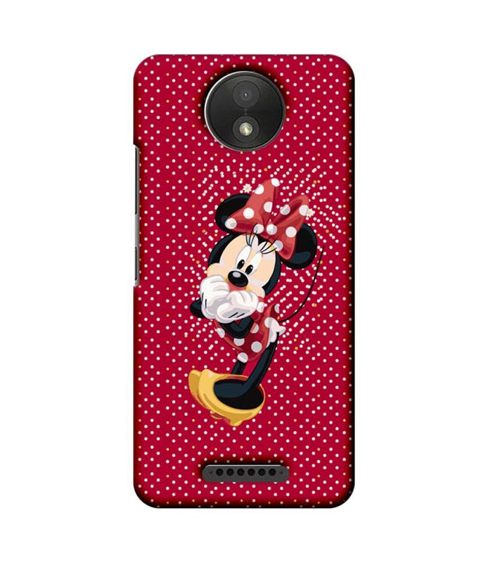 Motorola Moto C Plus Mobile Cover Printed Designer Case Mickey Mouse