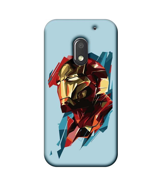 Motorola Moto E3 Power Mobile Cover Printed Designer Case Ironman illustration 2.0