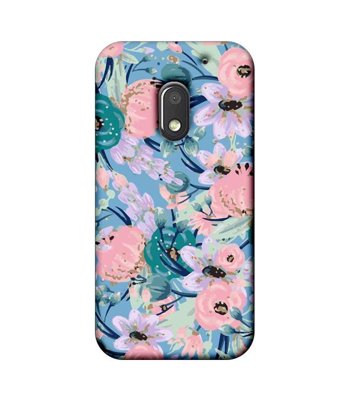 Motorola Moto E3 Power Mobile Cover Printed Designer Case Cherry Flower
