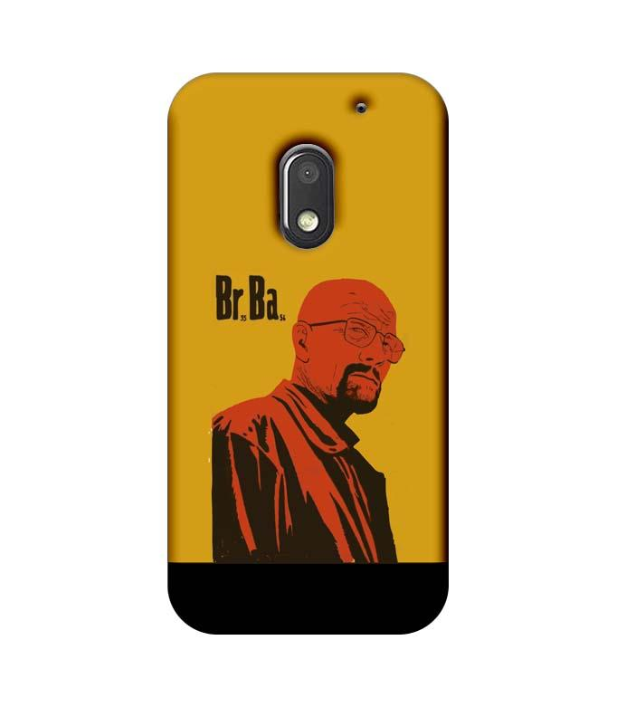 Motorola Moto E3 Power Mobile Cover Printed Designer Case Breaking Bad