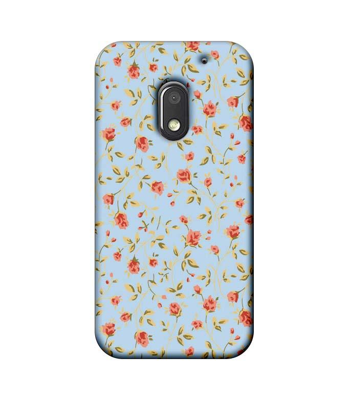 Motorola Moto E3 Power Mobile Cover Printed Designer Case Floral Pattern two